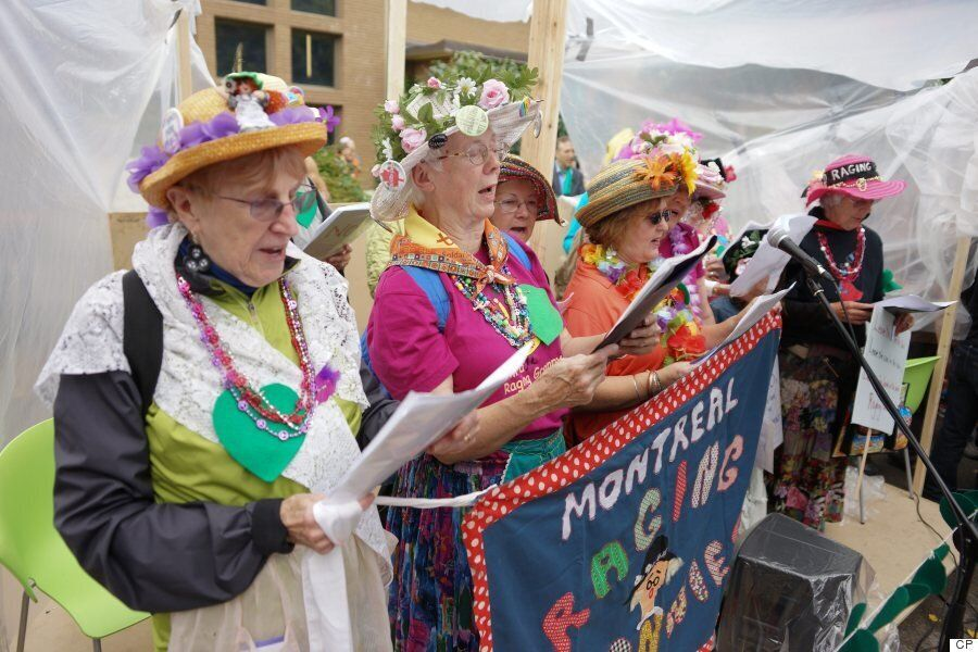 Montreal Raging Grannies