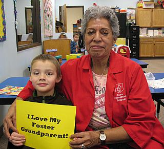 I love my foster grandparent