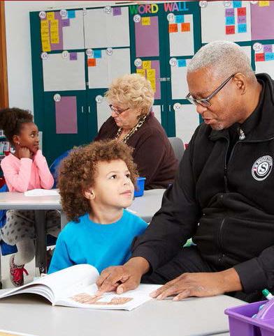 Foster Grandparents Program - Teaching