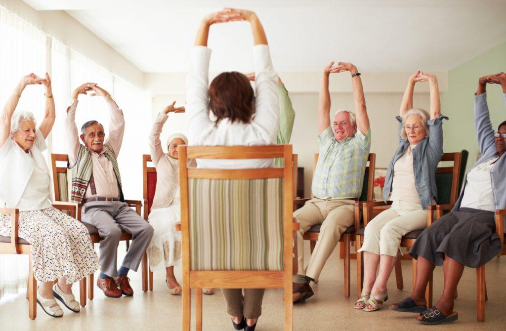 Yoga Practice for Seniors | Chair Yoga