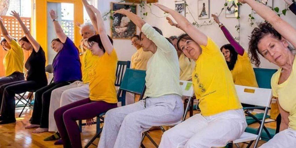 Chair Yoga Practice for Seniors
