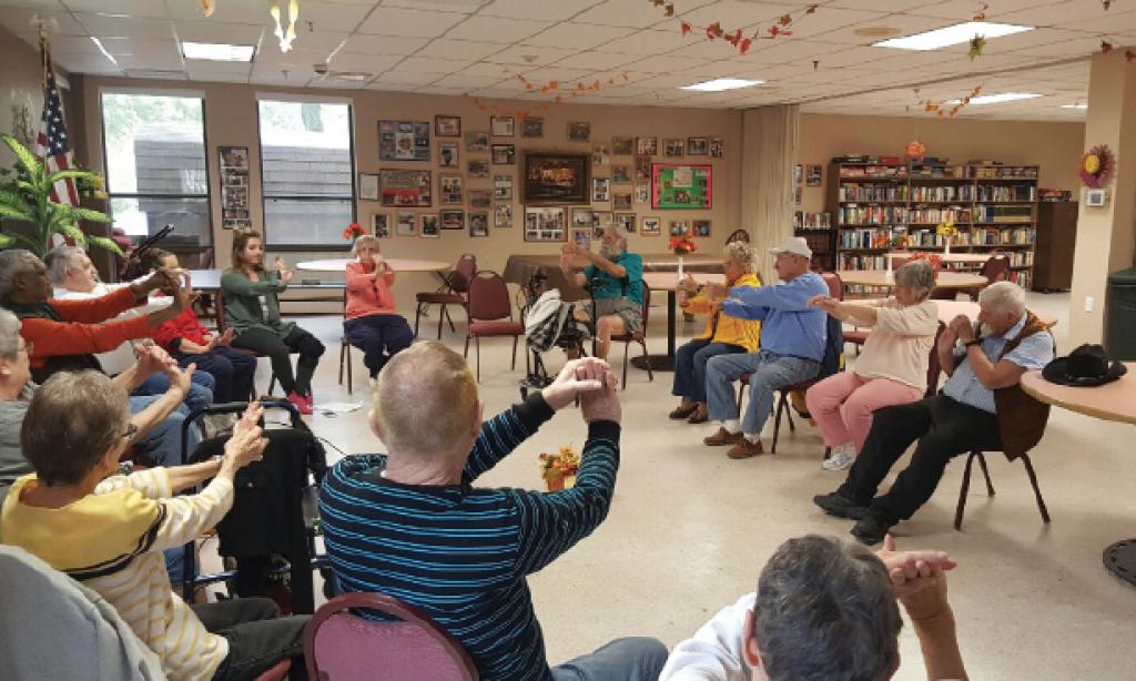 Yoga Practice for Seniors | Chair Yoga Class