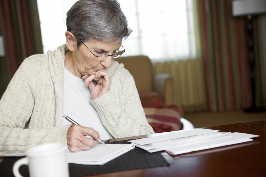 Turning Memories into Memoirs | Elderly Woman Writing