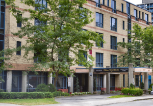 Chateau Westmount is a CHSLD located on the corner of de Maisonneuve and Victoria in Westmount